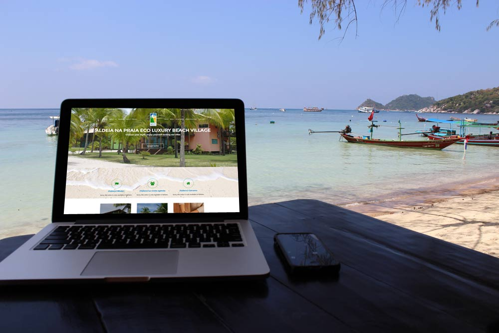 Aldeia Na Praia Website