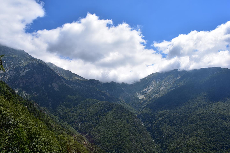 Nuvole sulle montagne