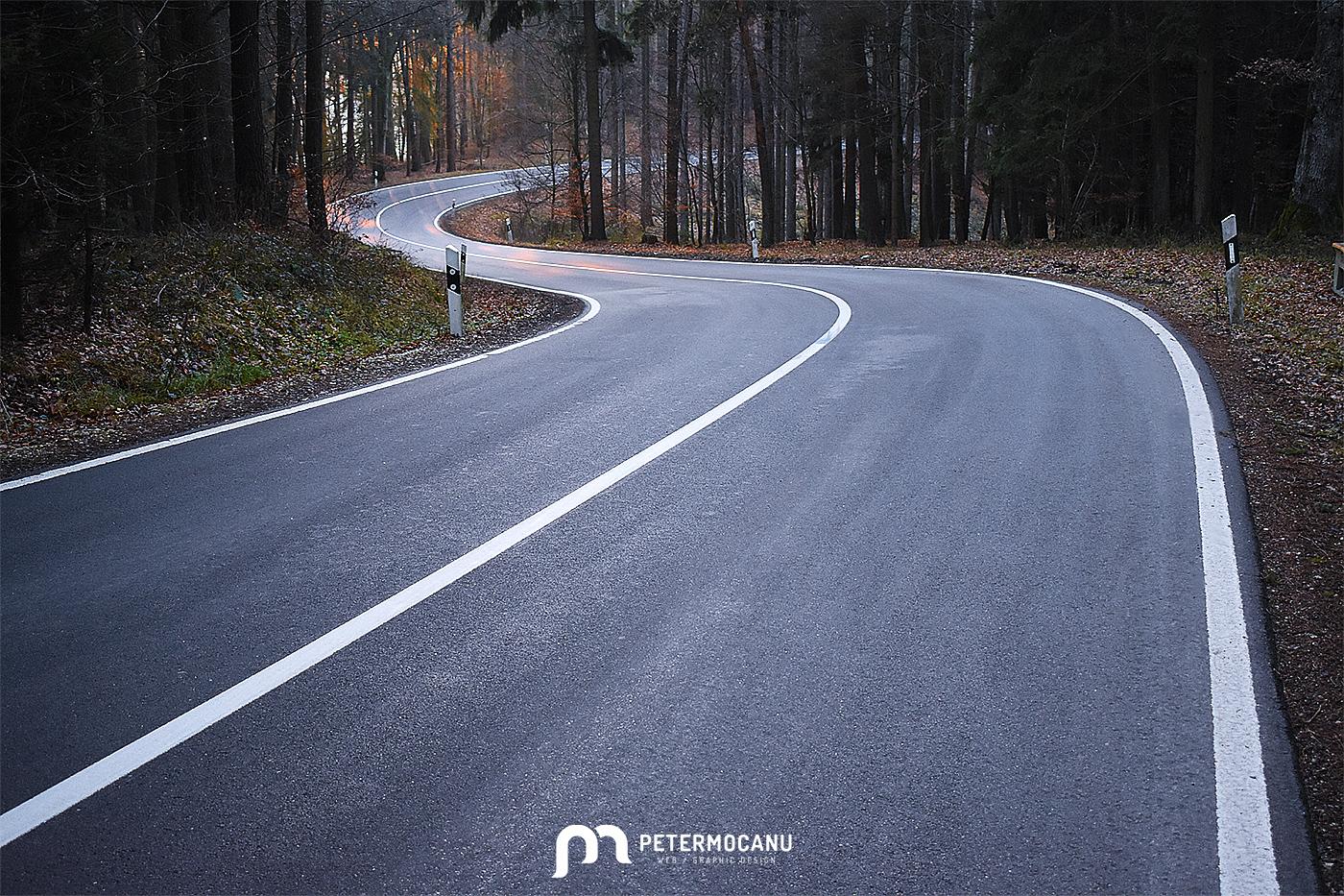 Germany Curvy Road