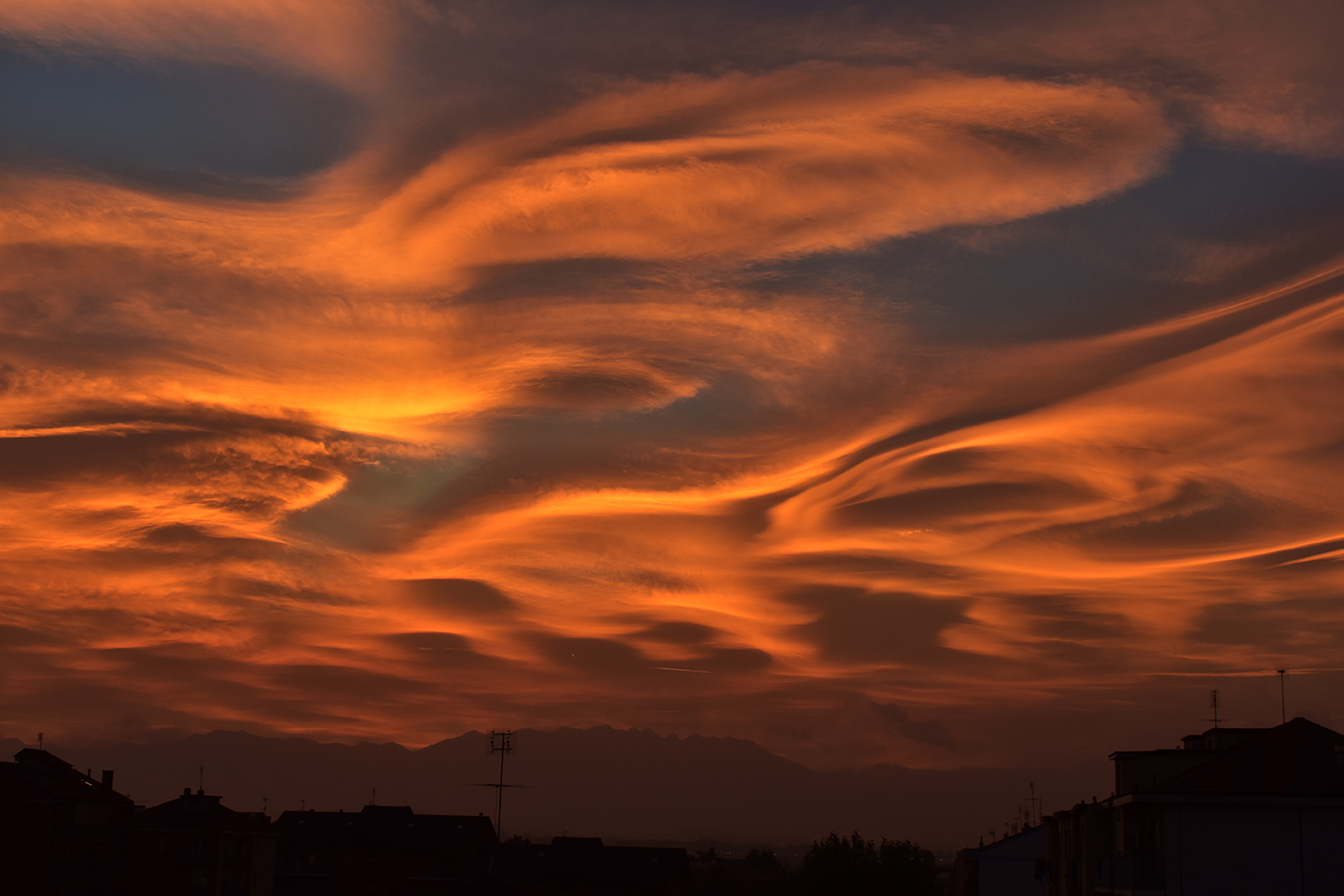 Clouds of Fire