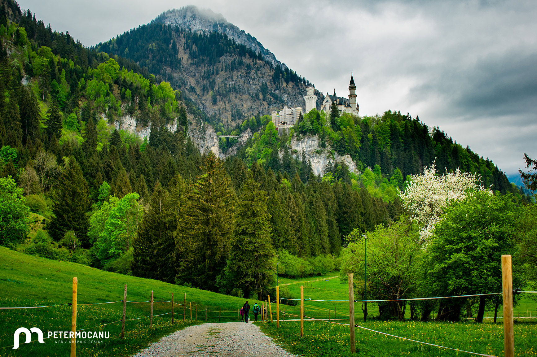 Path to Neuschwanstein