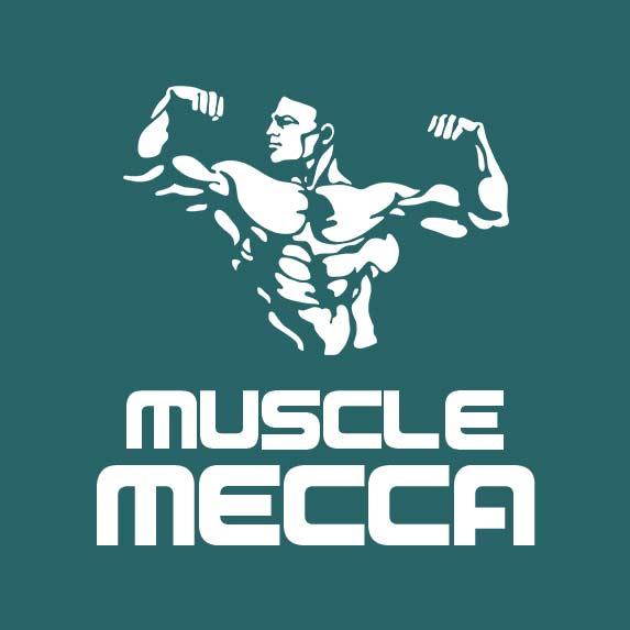 logo muscle mecca