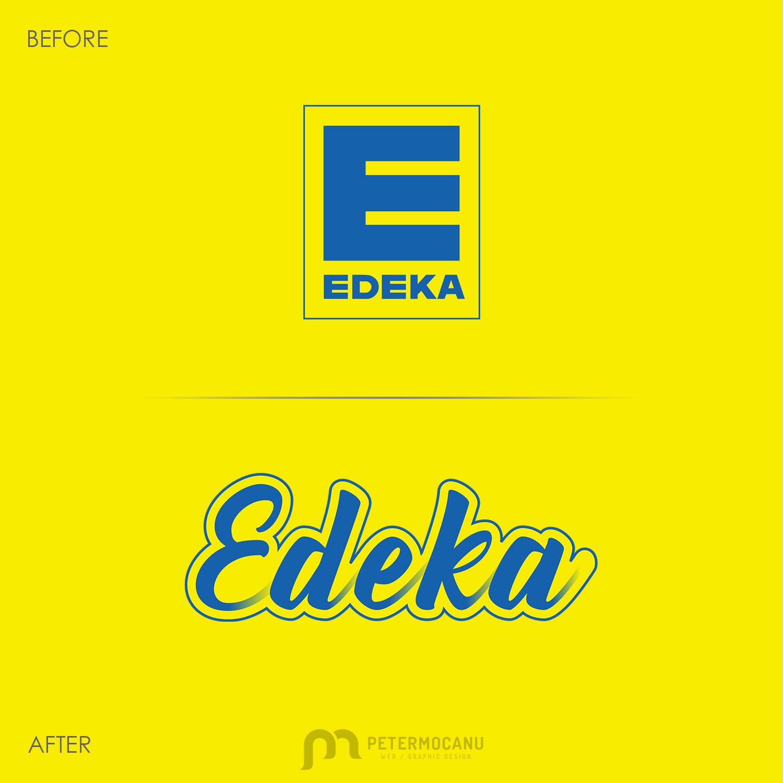 Edeka Logo Restyle