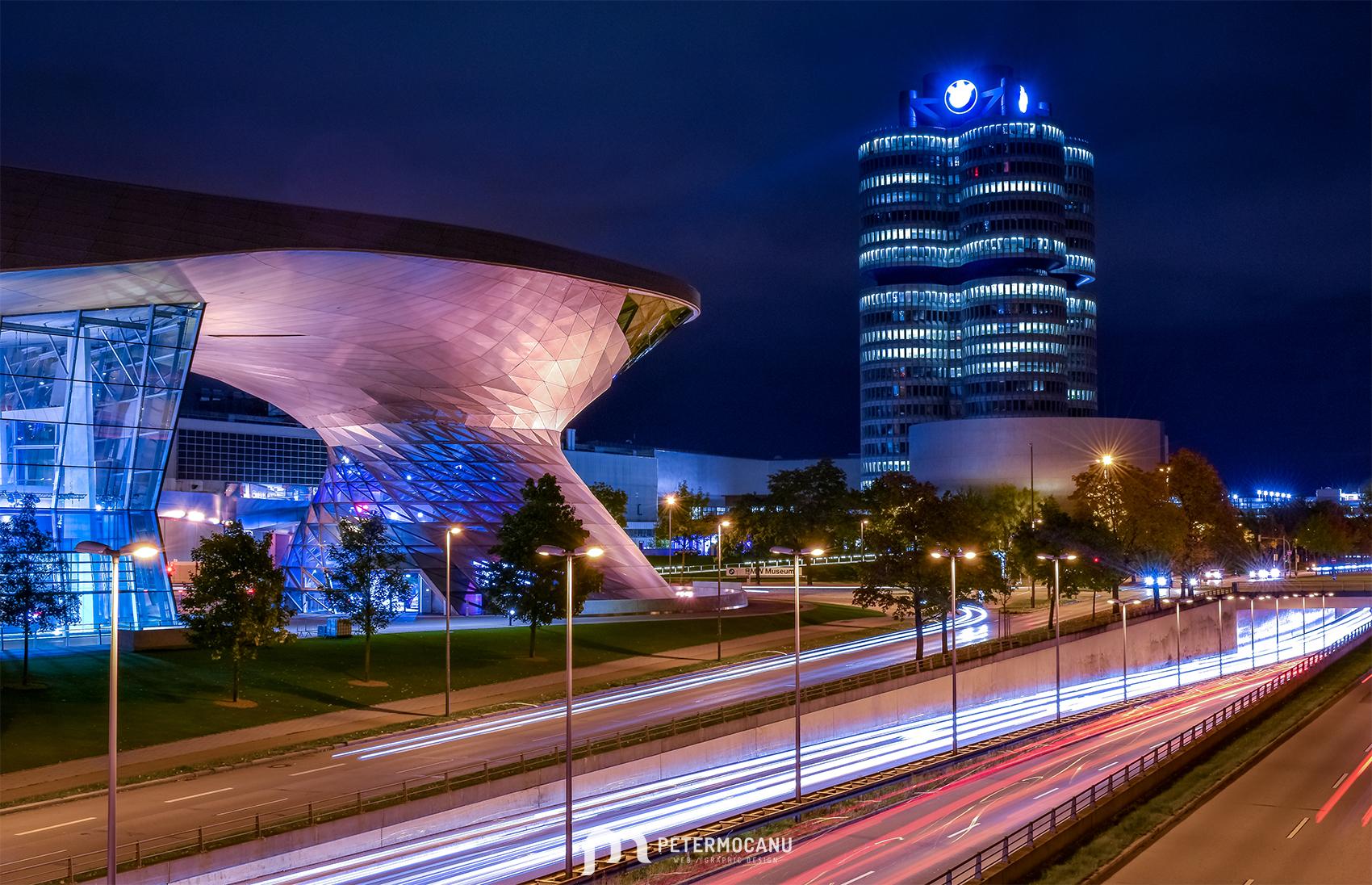 Munich Photo Session by night