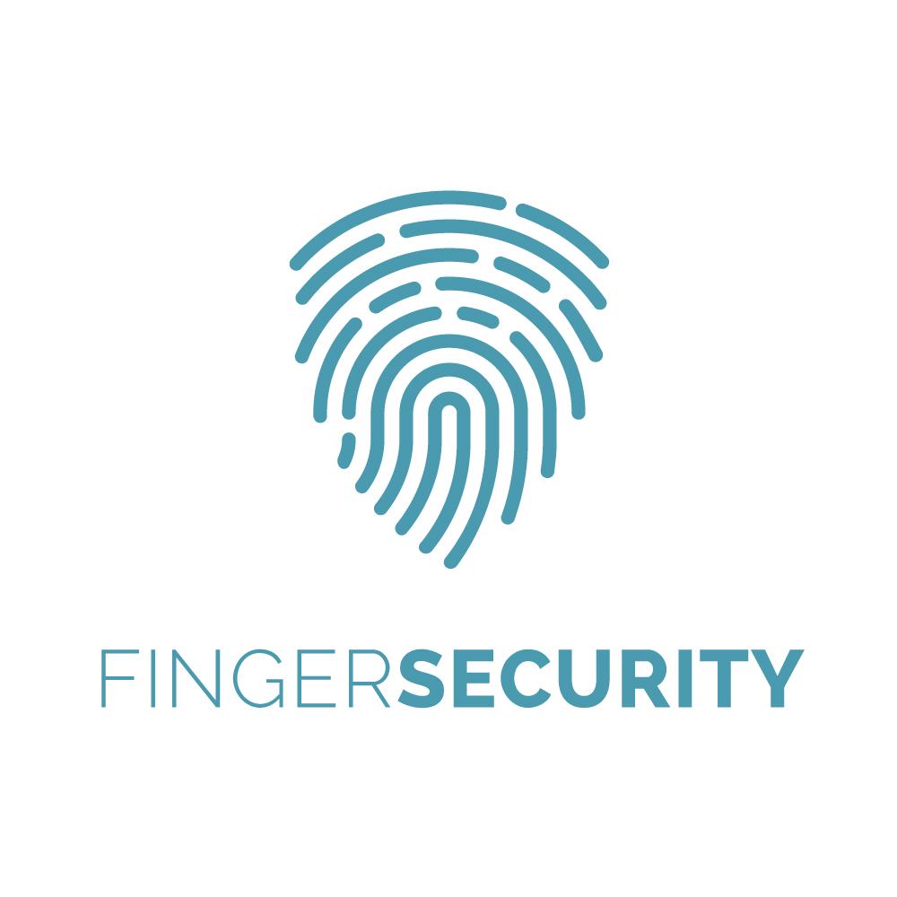 Finger Security Logo Design