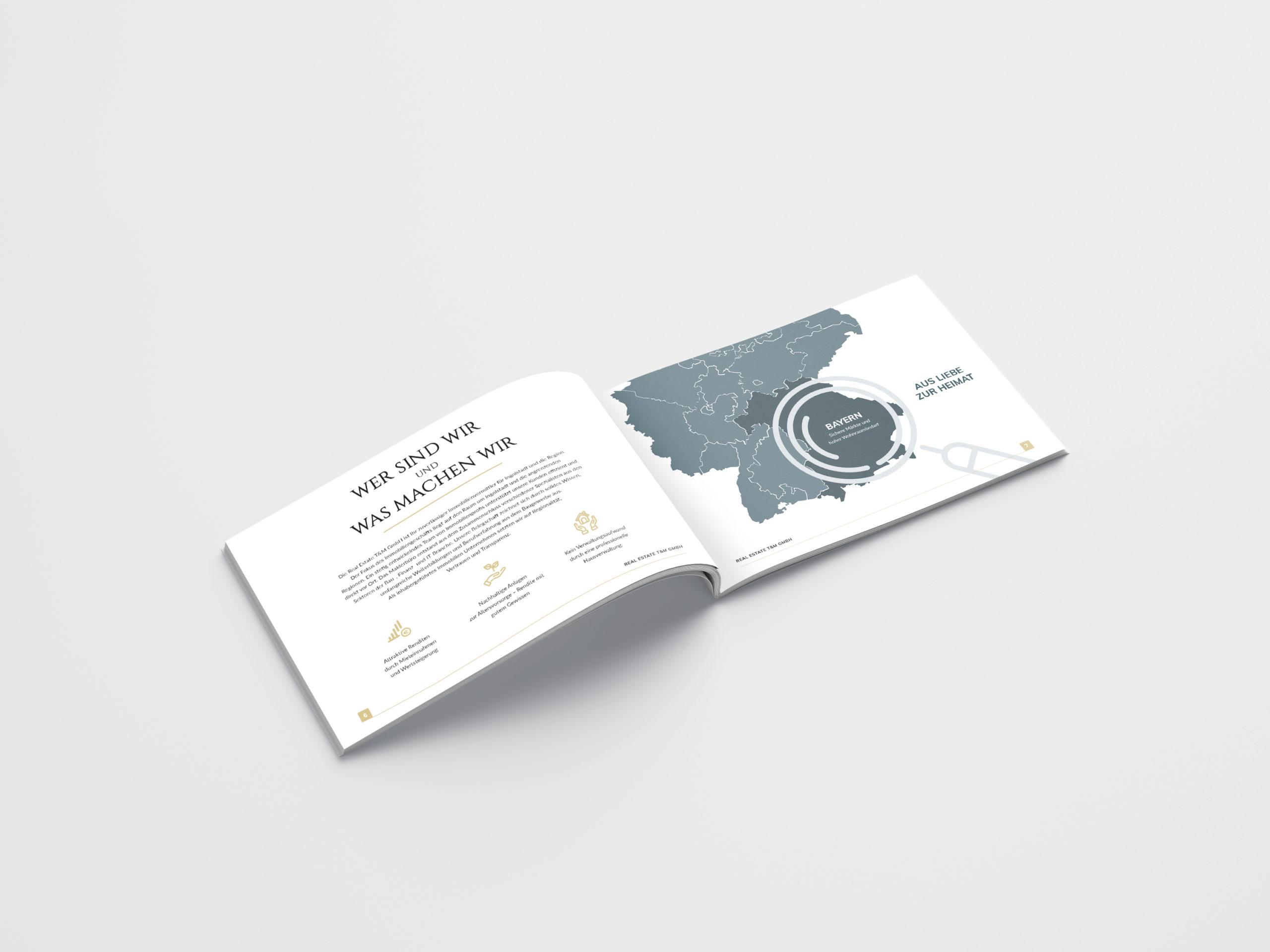 Real Estate Company Brochure Design Concept