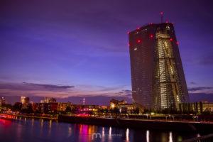 frankfurt-am-main-european-central-bank-night-sunset