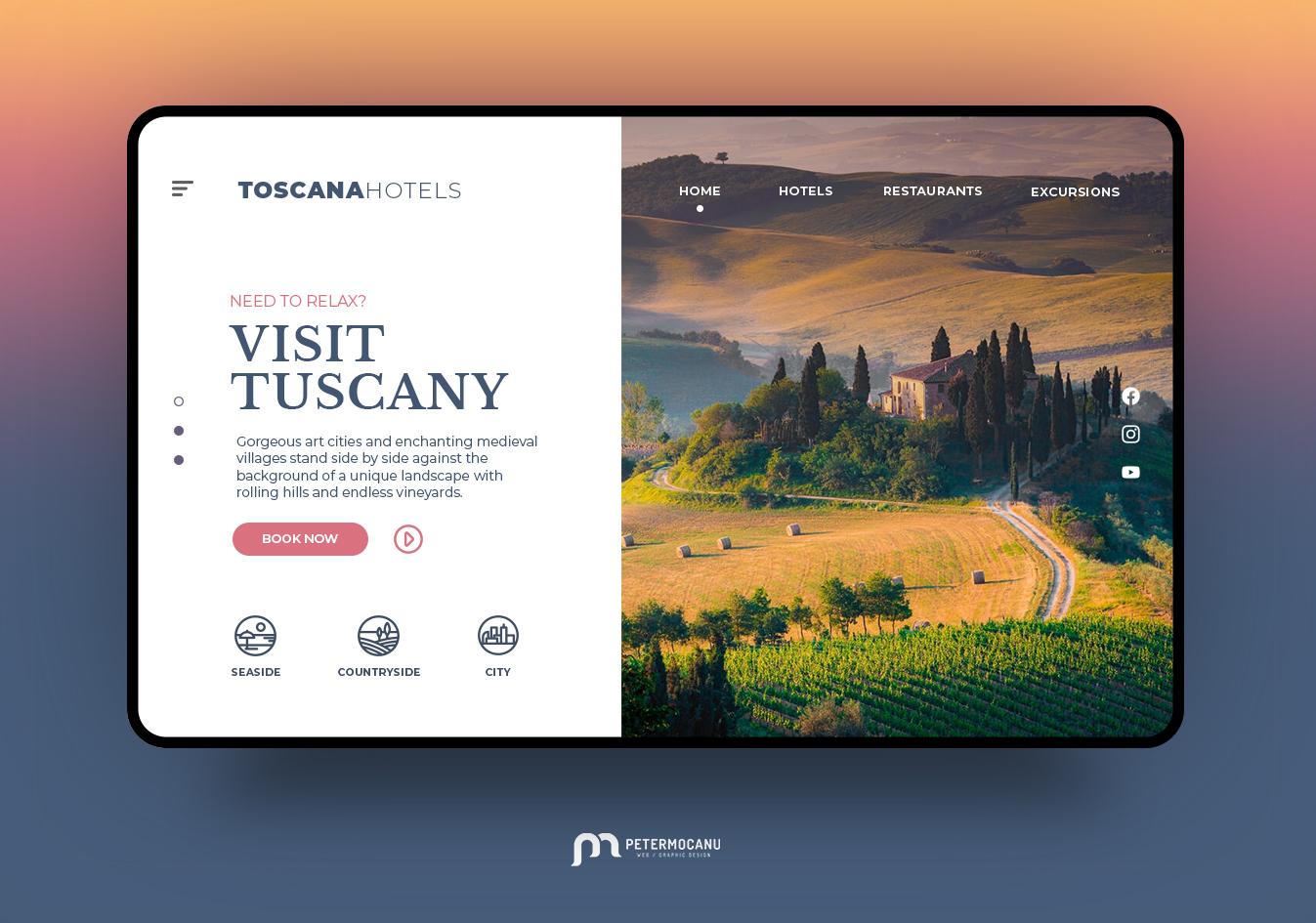 Travel Agency UI Design Concept