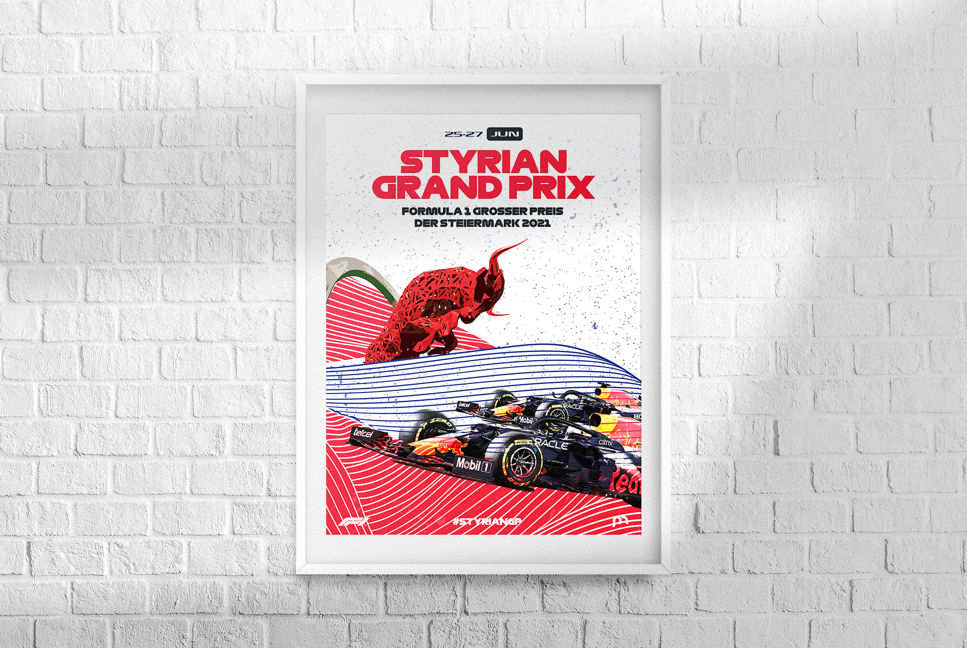 Styrian F1 Grand Prix 2021 Poster